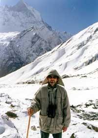 Андрей Казачков на Аннапурне