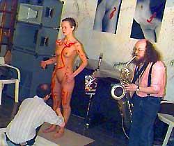Прикосновение нежного саксофона