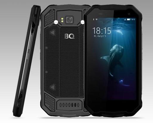BQпредставляет новый ударопрочный смартфон сповышенной влагозащитой— BQ-5033 Shark