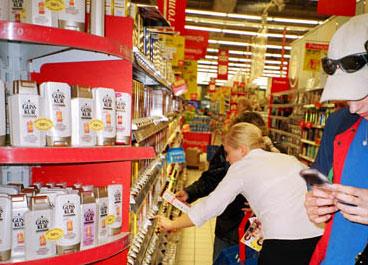 Мобильная торговля парфюмерией Schwarzkopf & Hеnkel на КПК Palm