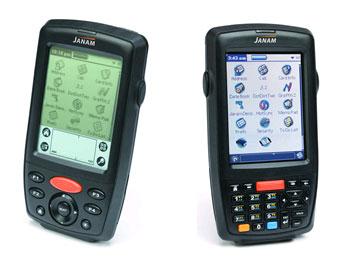 Janam X20 (слева) и X30 (справа)